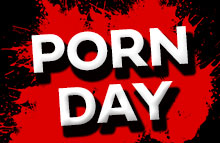 It's porn day: 20% off on all jack-off movies!