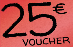The perfect start into the weekend: Cash in 25,- EUR extra!